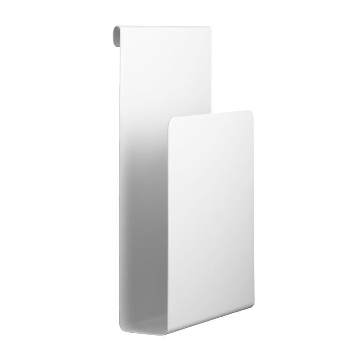 Magazinhalter 17 x 27 cm von String in Weiß