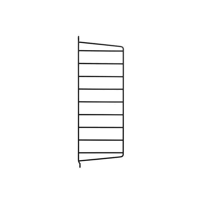 Wandleiter für String Regal 50 x 20 cm von String in Schwarz