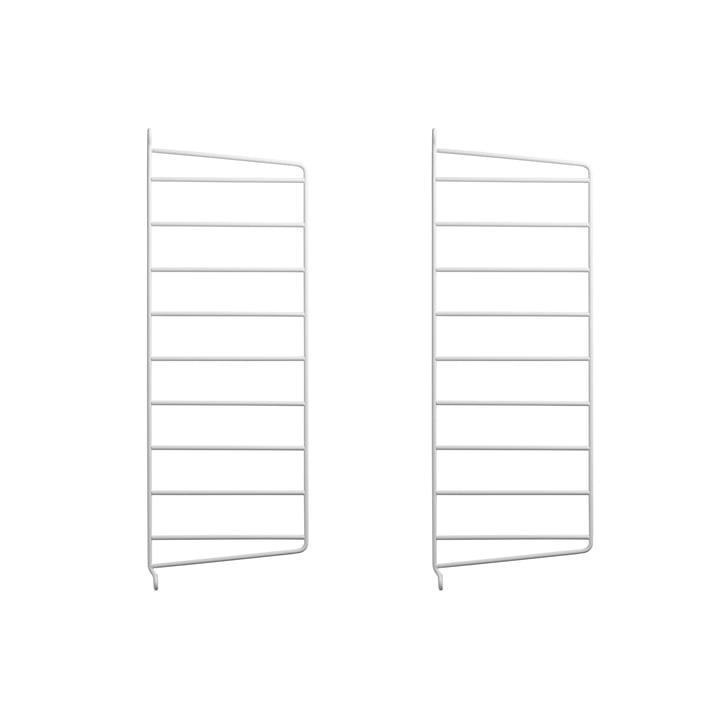 Wandleiter für String Regal 50 x 20 cm von String in Weiß (2er-Set)