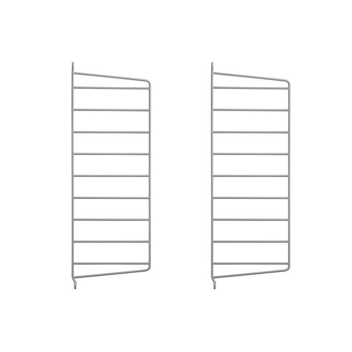 Wandleiter für String Regal 50 x 20 cm von String in Grau (2er-Set)