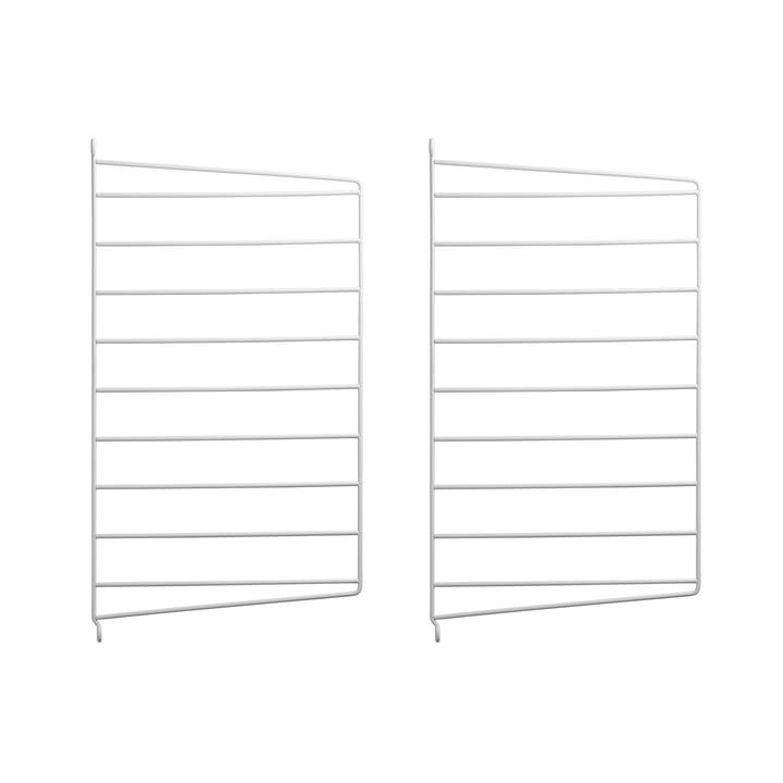 Wandleiter für String Regal 50 x 30 cm von String in Weiß (2er-Pack)