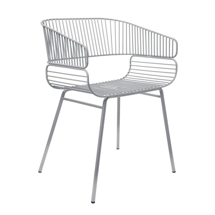 Trame Stuhl von Petite Friture in Grau