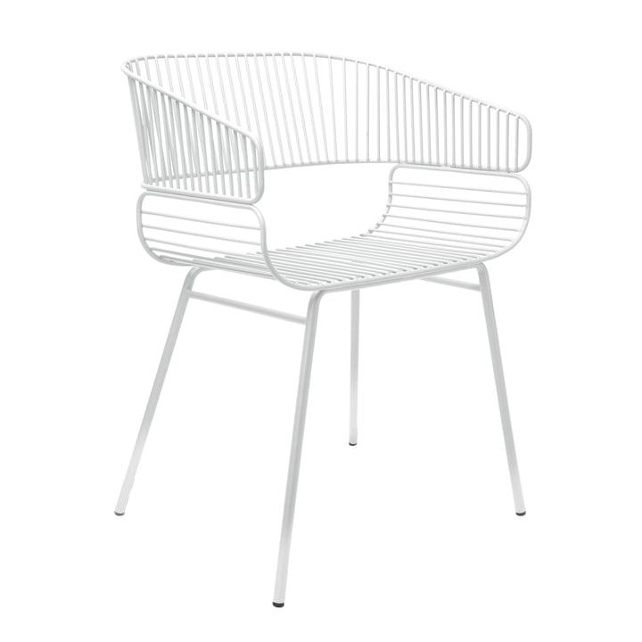 Trame Stuhl von Petite Friture in Weiß