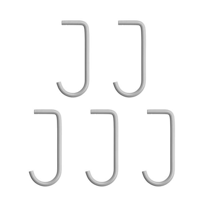 String - Haken fürMetallboden, grau (5er-Set)