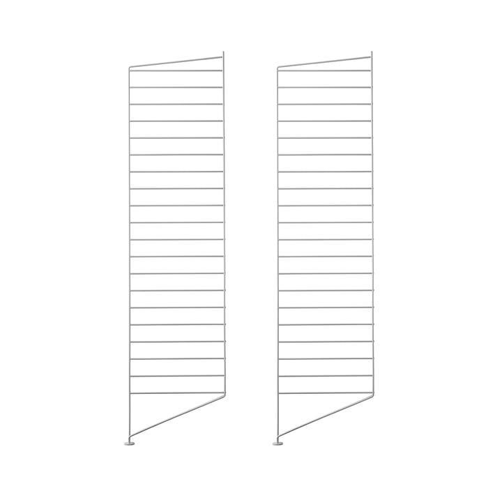Bodenleiter 115 x 30 cm (2er-Set) von String in Grau