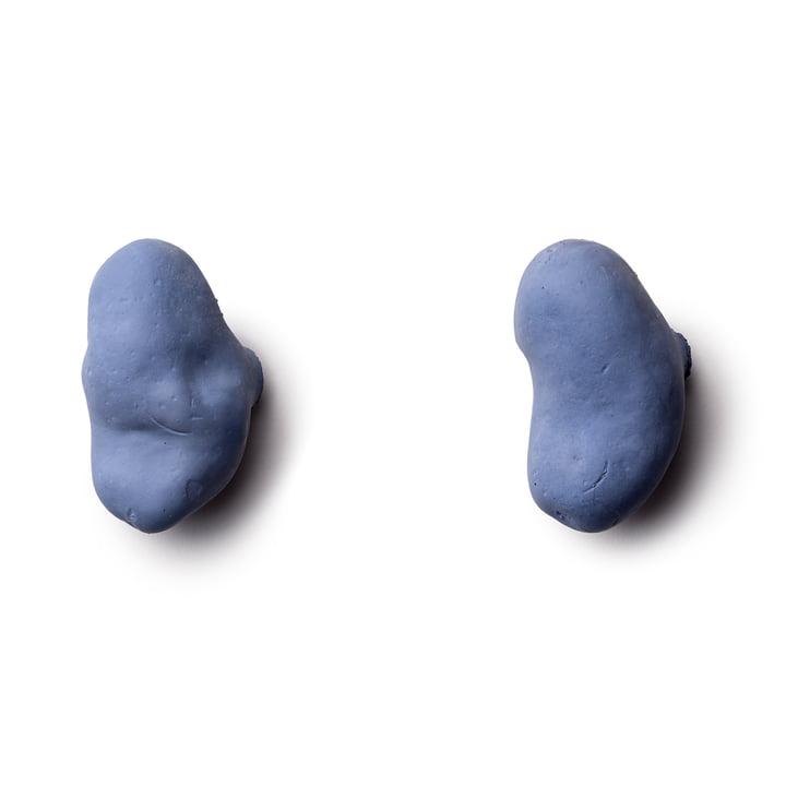 Tubercule Wandhaken (2er Set) von Petite Friture in Blau