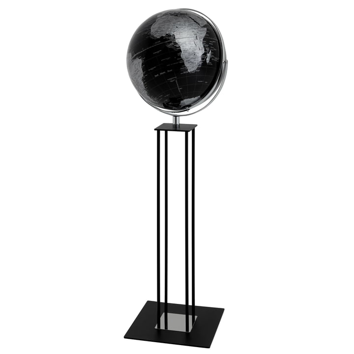 Worldtrophy Standglobus von emform in Black night