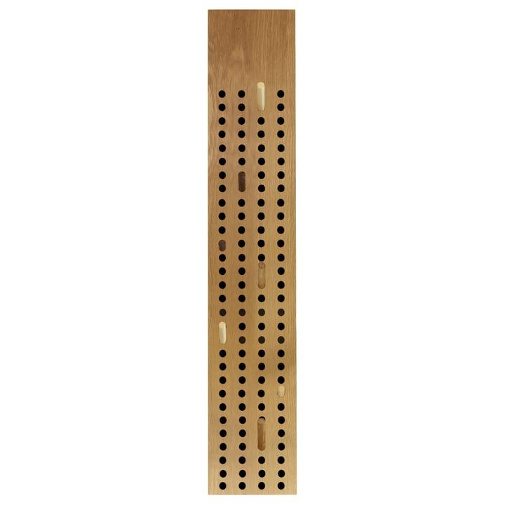 Die We Do Wood - Scoreboard Garderobe vertikal in Eiche natur