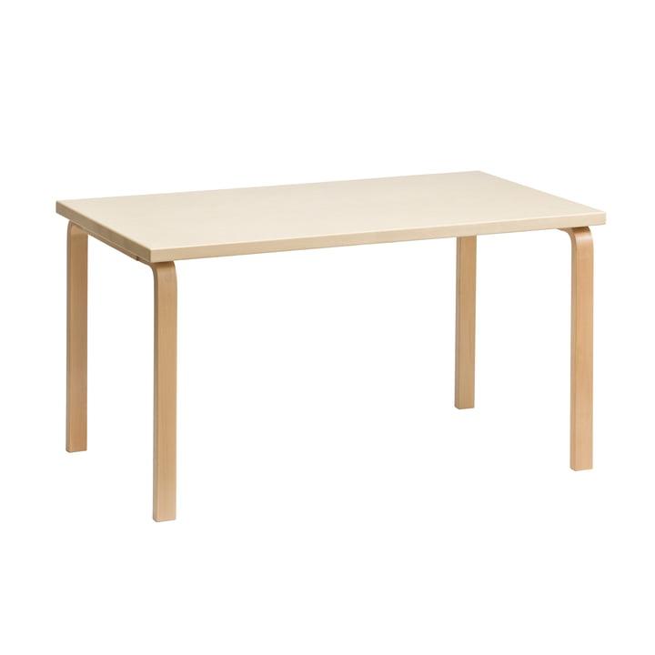 80B Tisch 10´20 x 60 cm von Artek in Birke