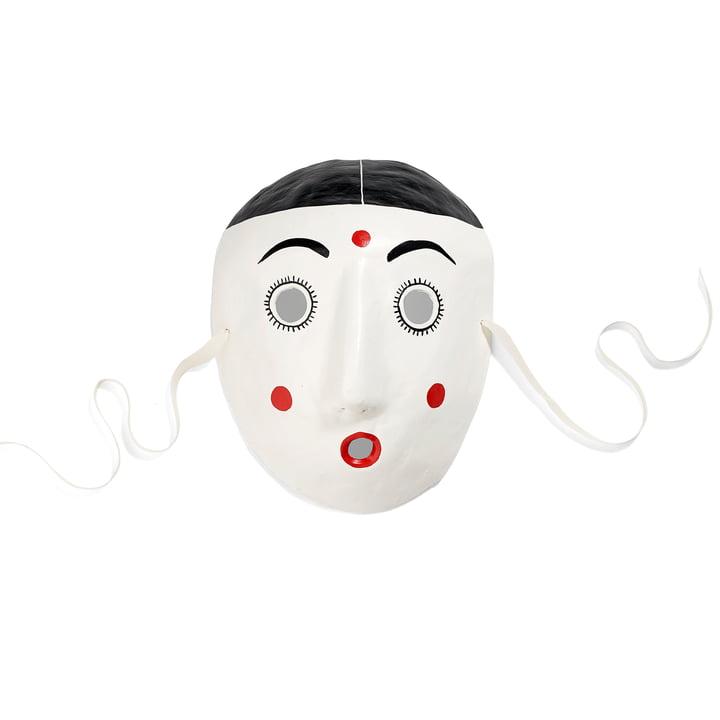 Hay Mood Maske in weiß
