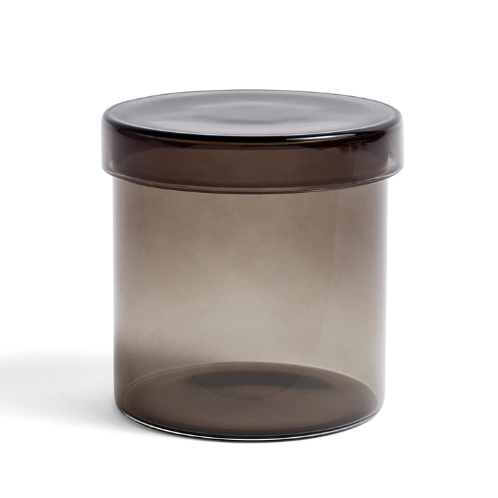 Container large H 9,5 cm von Hay in Grau