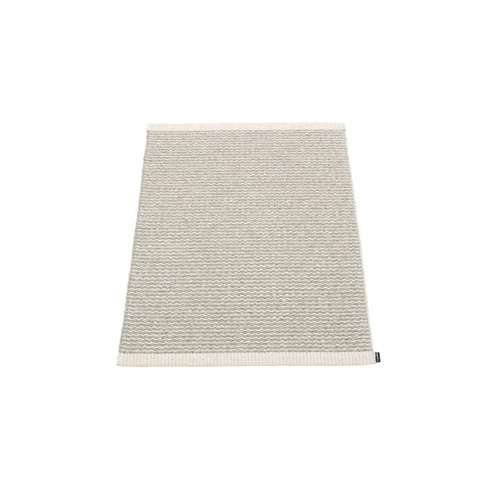 Mono Teppich, 60 x 85 cm von Pappelina in Fossil Grey / Warm Grey