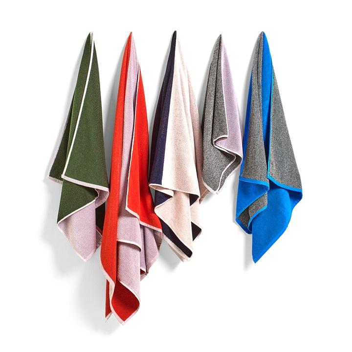 Hay Compose Handtücher - Farbübersicht