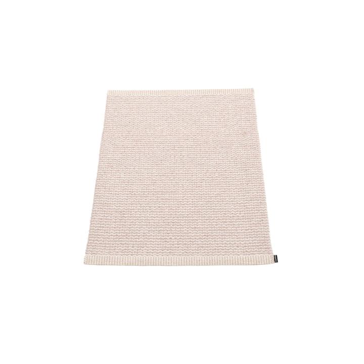 Mono Teppich 60 x 85 cm von Pappelina in Pale Rose / Ballet