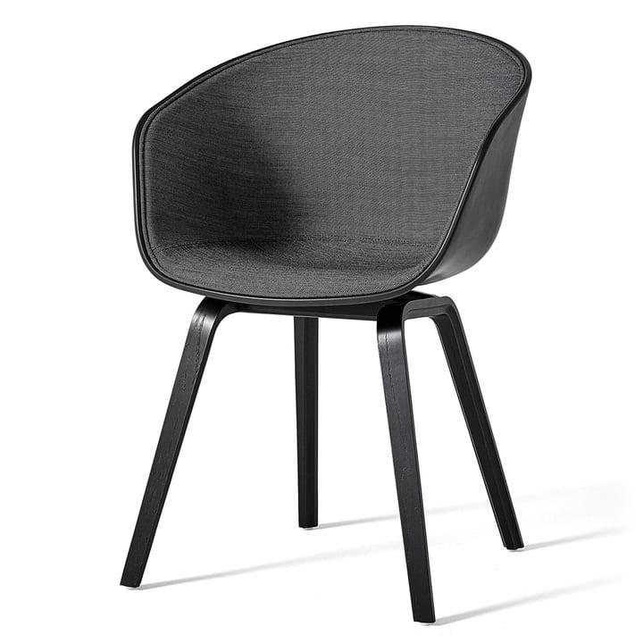 About A Chair AAC 22 mit Innenpolsterung von Hay in Schwarz
