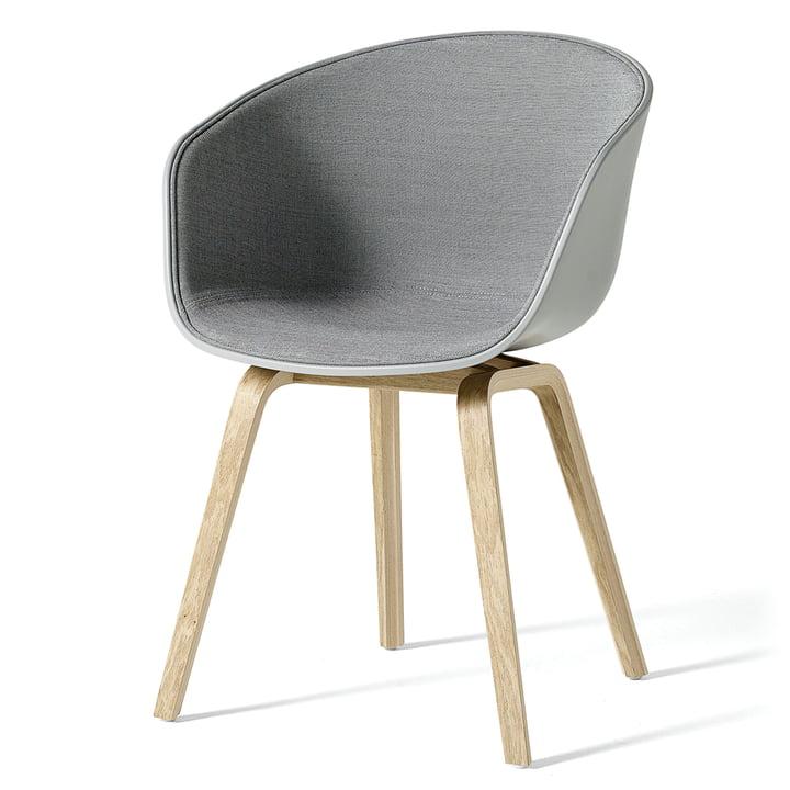 About A Chair AAC 22 mit Innenpolsterung von Hay Concrete Grey