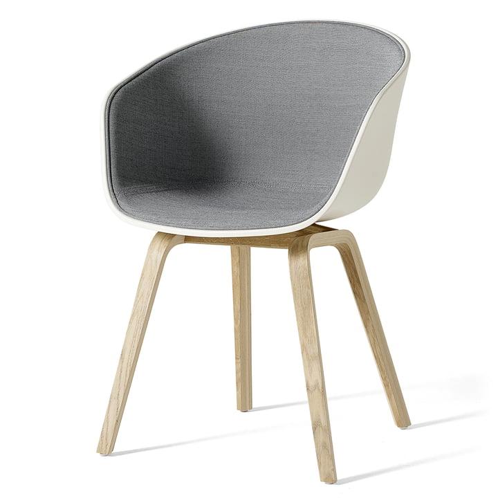 About A Chair AAC 22 mit Innenpolsterung von Hay Cream White