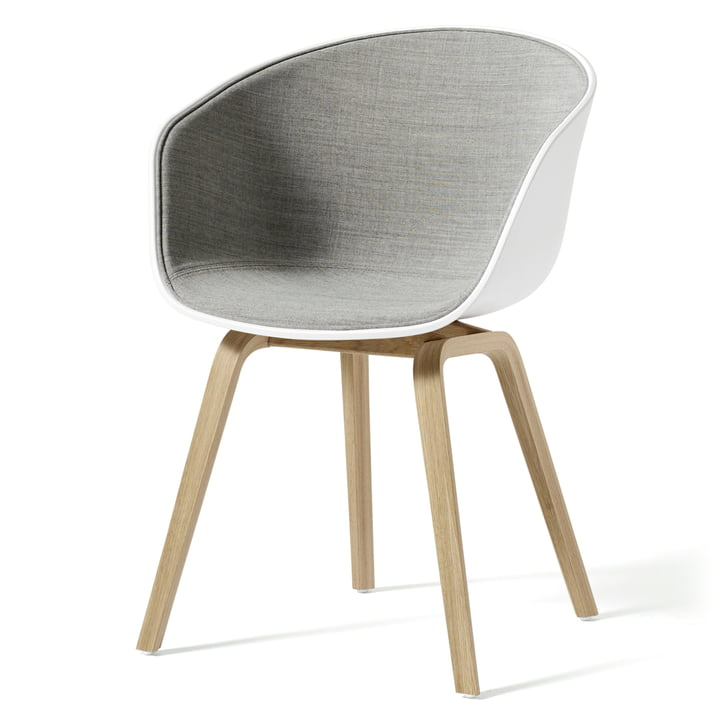 About A Chair AAC 22 mit Innenpolsterung von Hay Weiß