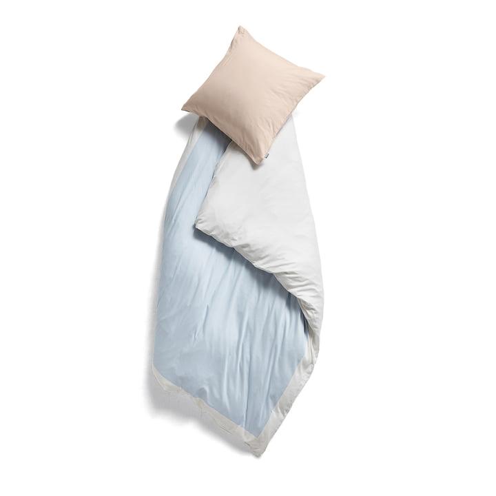 Rest Bettbezug 140 x 200 cm von Hay in Blue frame 2