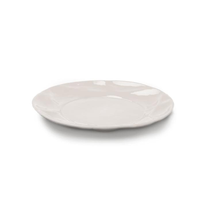 Succession Teller Ø 21 cm von Petite Friture in Weiß