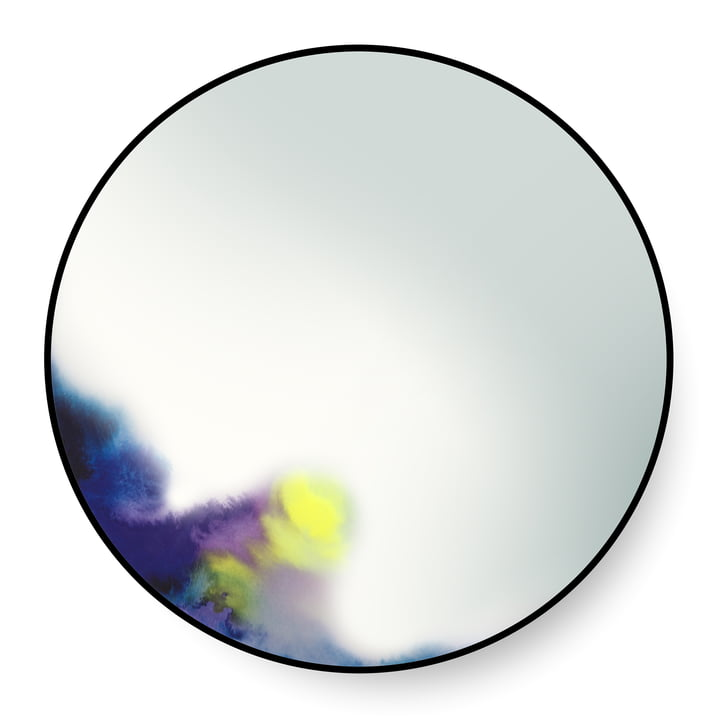 FrancisWandspiegel large von Petite Friture in Blau / Lila