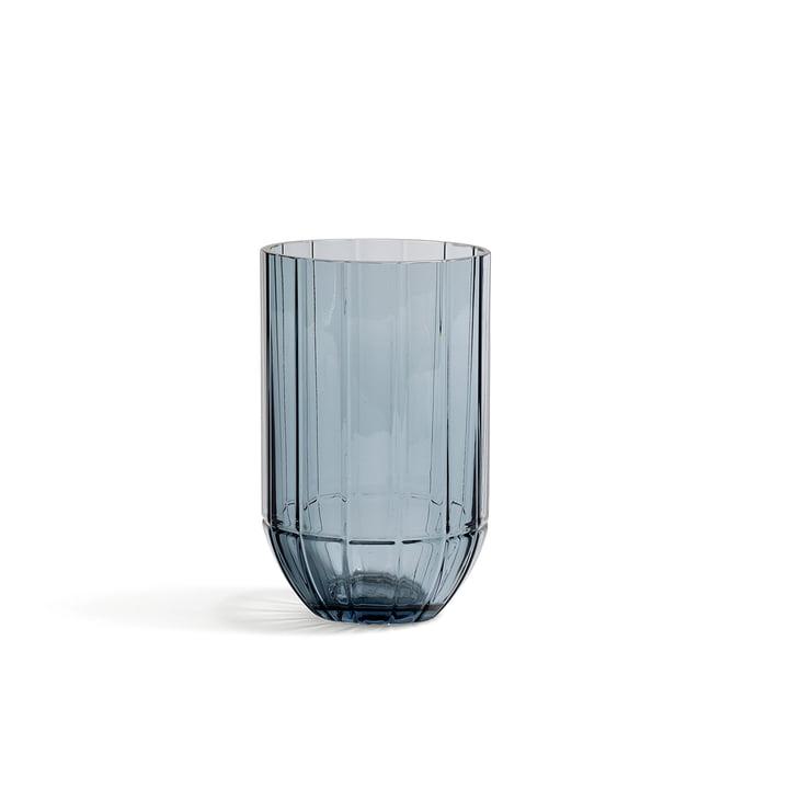 Hay - Colour Vase Glasvase, M, blau
