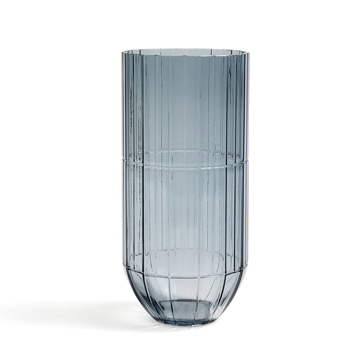 Hay - Colour Vase Glasvase, XL, blau
