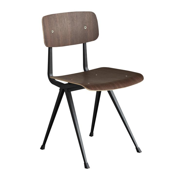 Result Chair von Hay in Schwarz und Eiche geräuchert