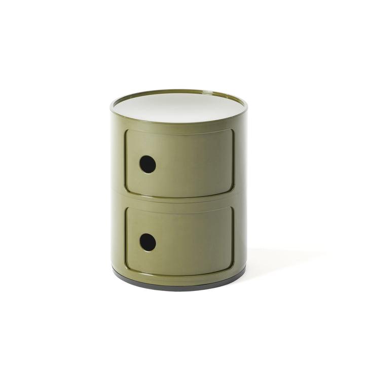 Componibili 4966 von Kartell in grün