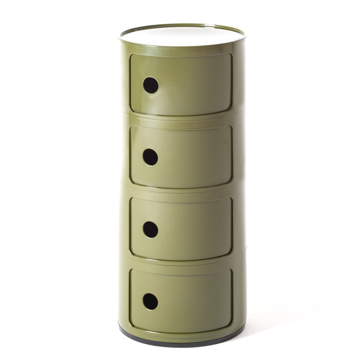 Componibili 4985 von Kartell in grün