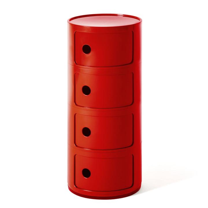 Componibili 4985 von Kartell in rot