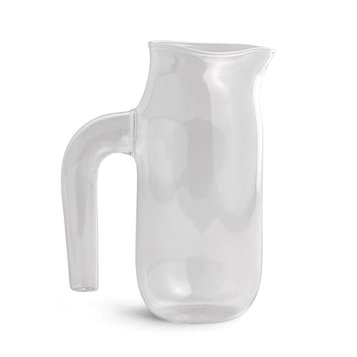 Glaskrug large H 20,5 cm von Hay in Klar