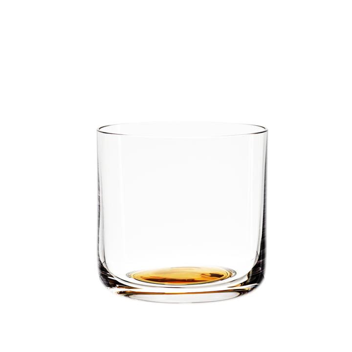 Colour Glass Wasserglas niedrig von Hay mit goldenem Punkt