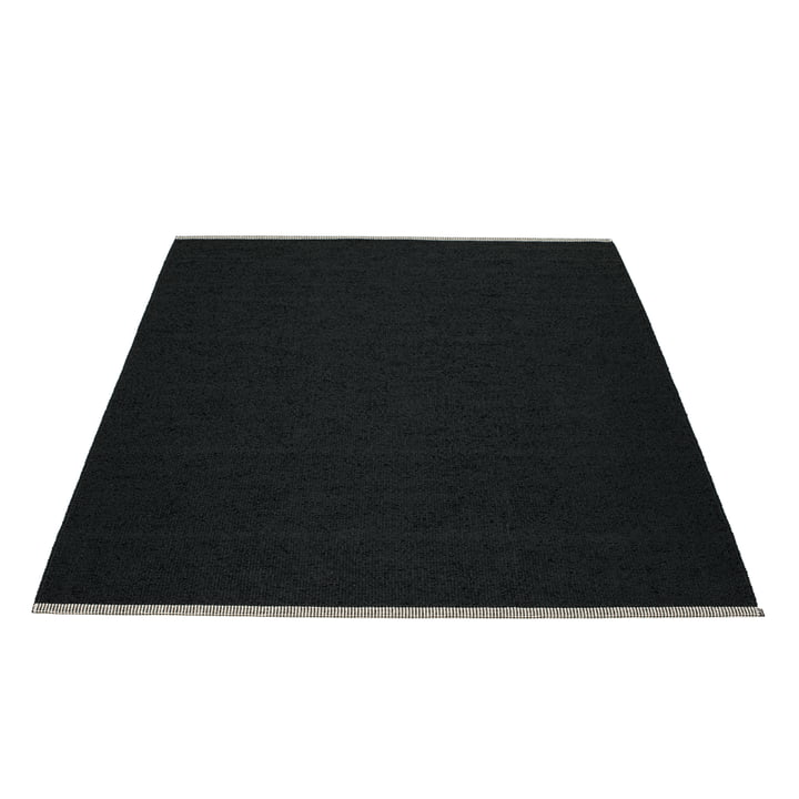 Mono Teppich 180 x 220 cm von Pappelina in Schwarz