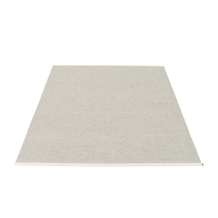 Mono Teppich 140 x 200 cm von Pappelina in Fossil Grey / Warm Grey