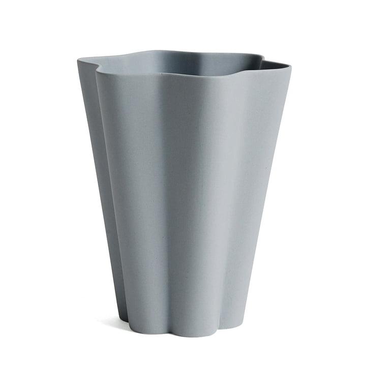 Hay - Iris Vase large in grau