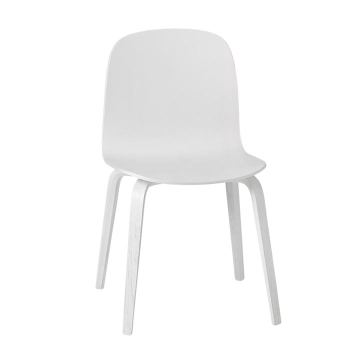 Visu Stuhl von Muuto in weiß (RAL 9016)