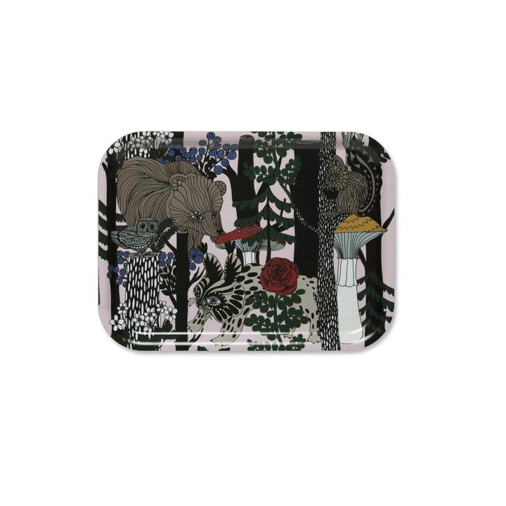 Veljekset Tablett 27 x 20 cm von Marimekko in mehrfarbig