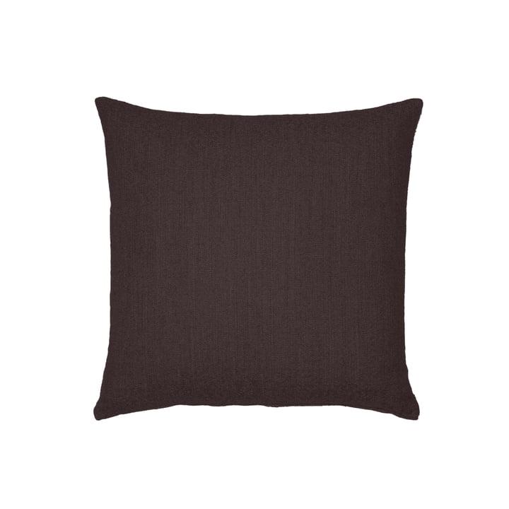 Vitra - Soft Modular Sofa, Kissen 40 x 40 cm, schwarzbraun (Laser 50)