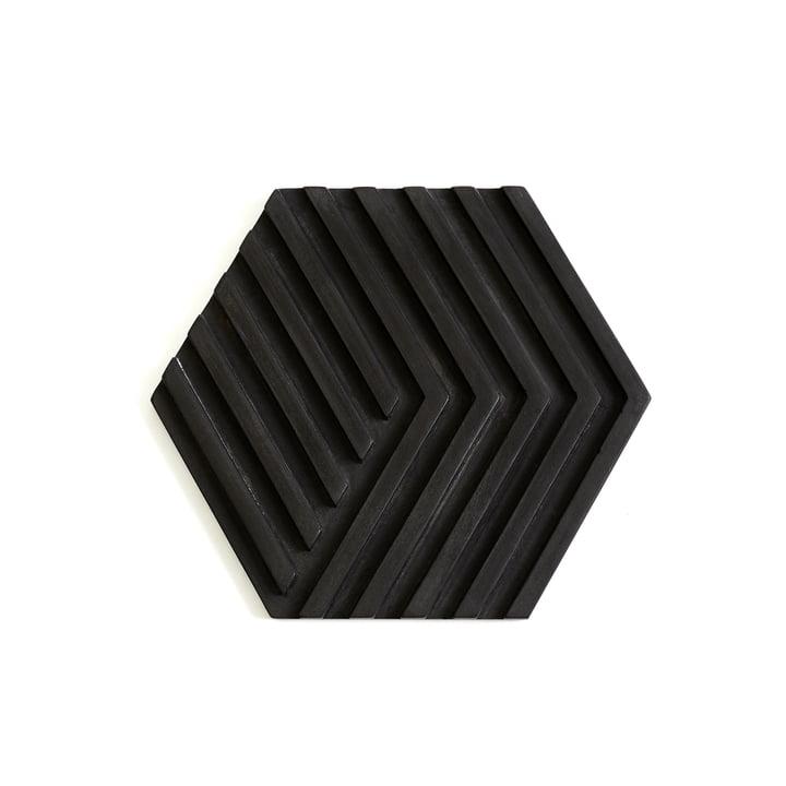 Concrete Trivet Topf-Untersetzer von Areaware in Schwarz