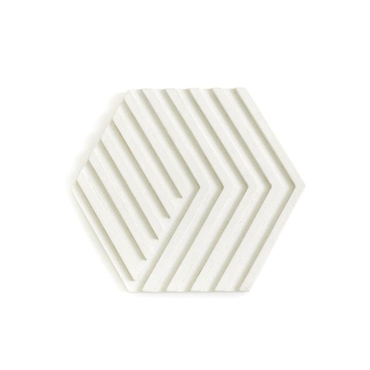Concrete Trivet Topf-Untersetzer von Areaware in Weiß