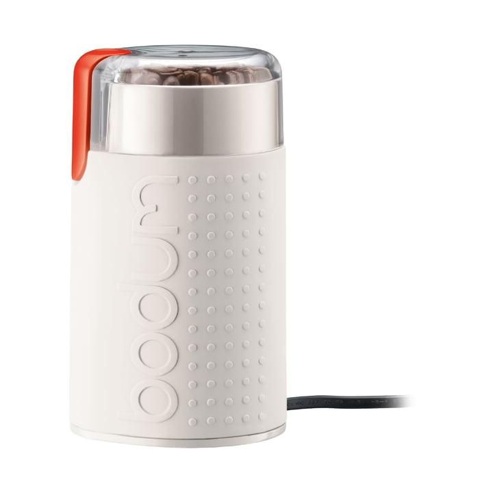 Bistro elektrische Kaffeemühle von Bodum in Weiß