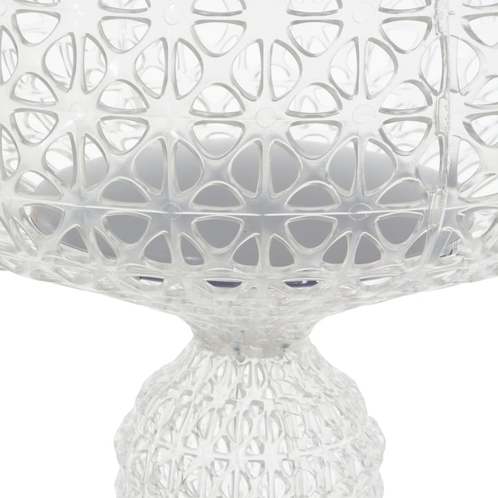 Kartell - Kabuki Outdoor Stehleuchte LED, transparent
