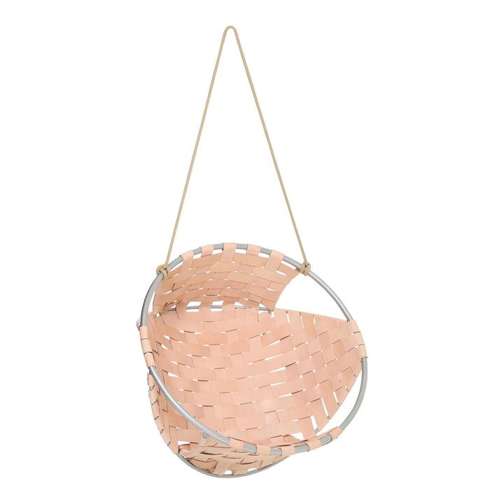 Der Trimm Copenhagen - Cocoon Hang Chair in Leder natur
