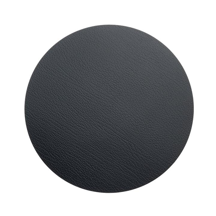 Hot Mat Circle M Tischunterlage Ø 30 cm von LindDNA in Bull Schwarz (3 mm)