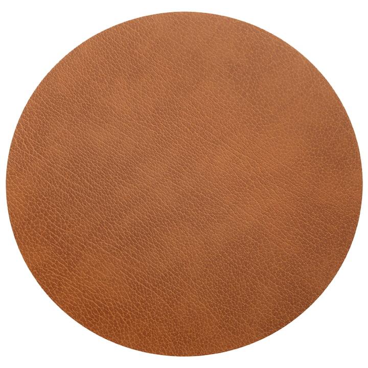 Floor Mat Circle XXXXL Ø 115 cm von LindDNA in Bull Natur