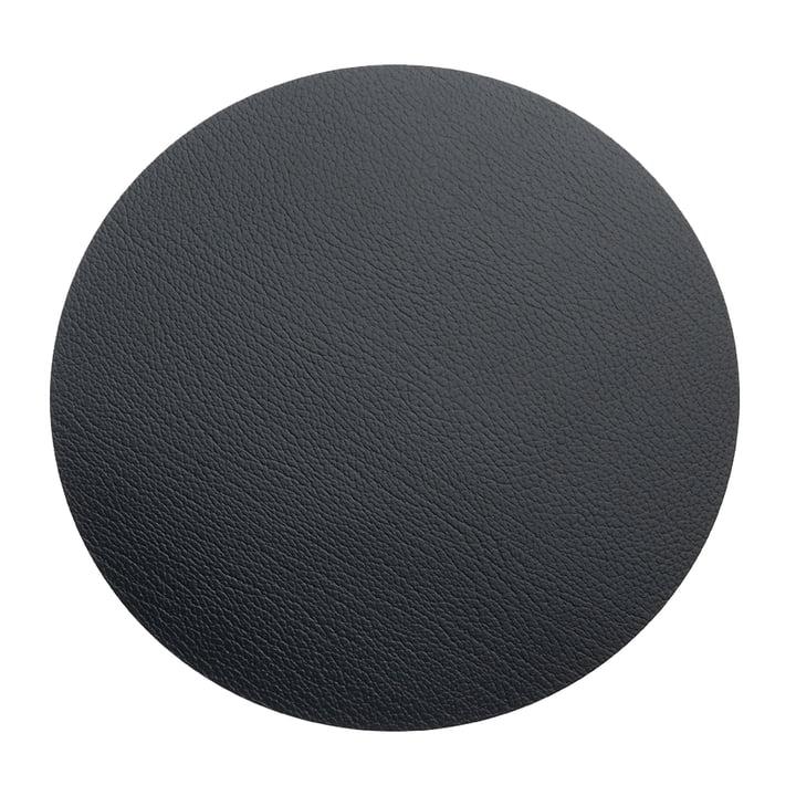 Floor Mat Circle XXXL Ø 92 cm von LindDNA in Bull Schwarz