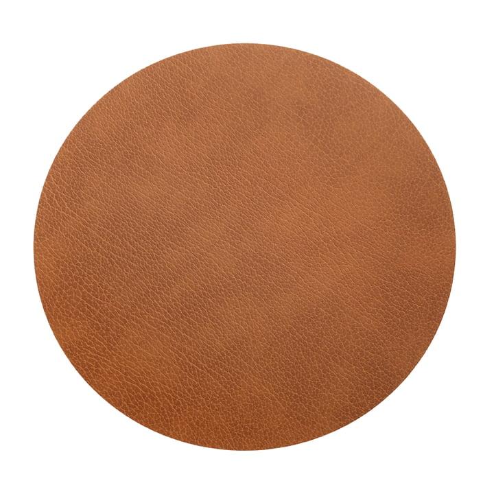 Floor Mat Circle XXXL Ø 92 cm von LindDNA in Bull Natur