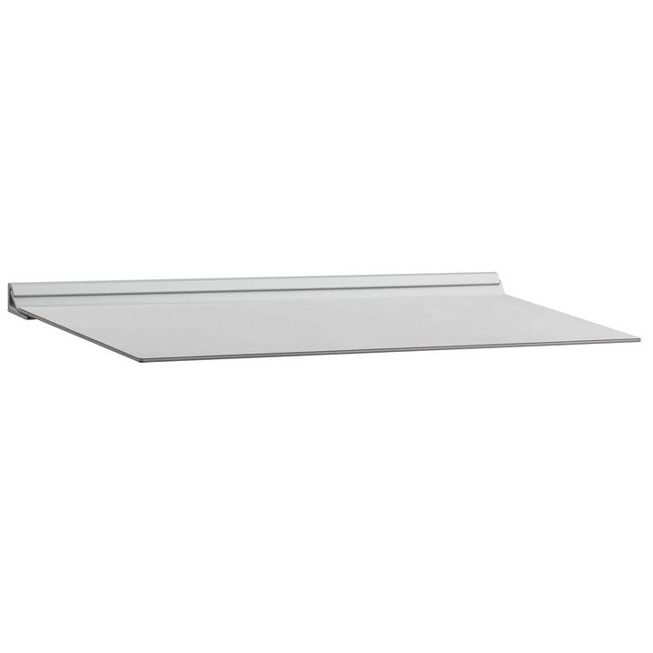 Slim Shelf M 20 x 45 cm von LindDNA in Nupo Metallic / Stahl Metallic
