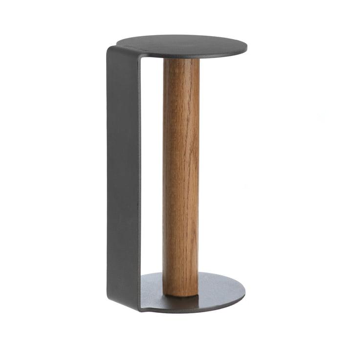 Küchenrollenhalter XL 31 cm von LindDNA in Nupo Anthrazit / Aluminium Anthrazit